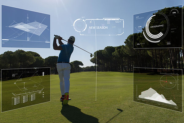 nGt GPS Golfer-Wearables